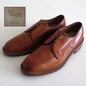 ALLEN EDMONDS Hillcrest walnut oxfords 10.5 shoes